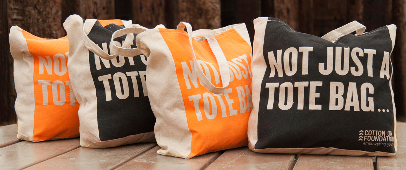 Cotton On Group tote bags